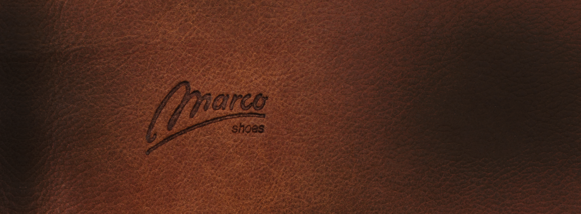 marco shoes leather logo