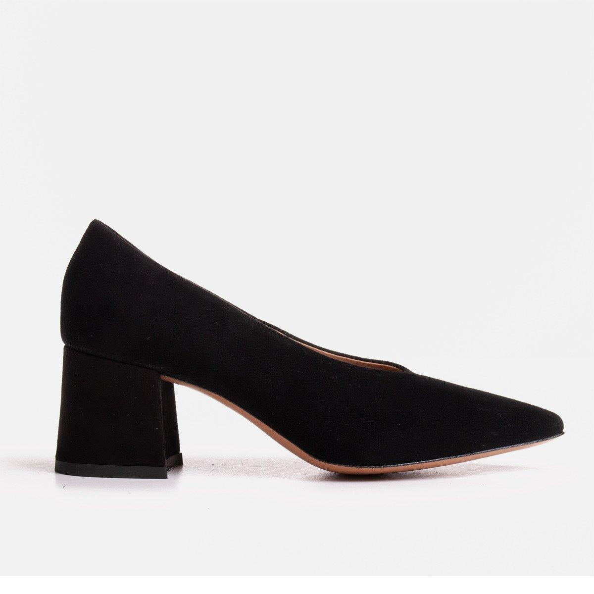 elegant black pumps