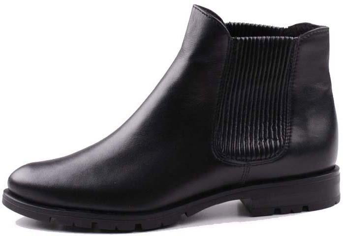 3b44933dd1d6e 0112B-001 Marco Shoes sztyblety czarne skórzane z gumą | Sklep ...