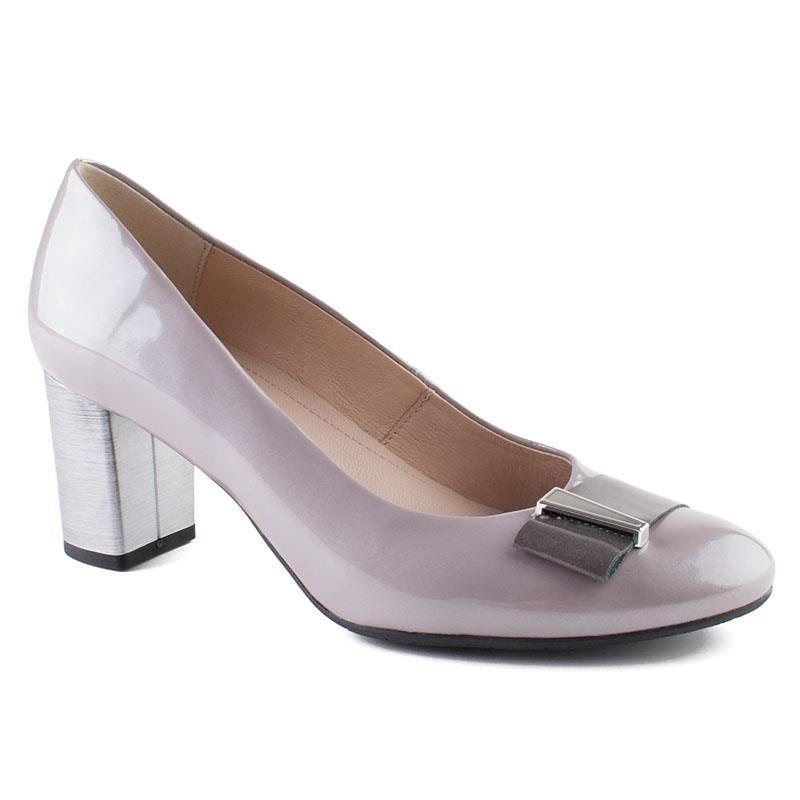 b169b0e0 0644P-149-1 Marco Shoes szare czółenka   Sklep Marcoshoes.eu